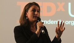 Sofie Sandell speaking TEDxUCL