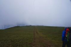 Ultimii metri spre vârful Cindrel