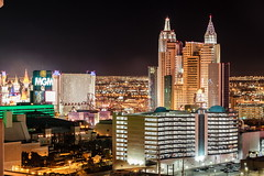 MGM Grand and New York-New York at Night