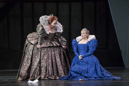 What did you think of Moshe Leiser's and Patrice Caurier's arresting new production of Donizetti's Tudor tragedy?