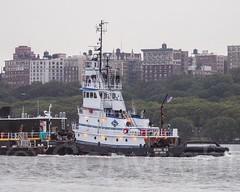 BERING SEA K-SEA Tugboat on the Hudson River, New York City (jag9889) Tags: nyc newyorkcity usa ny newyork river boat unitedstates manhattan unitedstatesofamerica vessel transportation upperwestside tugboat hudsonriver tug waterway uws 2012 northriver workboat jag9889 y2012 20120818