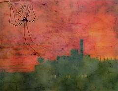 A-Town (2bmolar) Tags: spider 1977 redsunset allentownpa skylinesunset sliderssunday