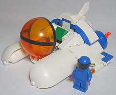 vic viper open cockpit (jaimevalenzuelamusic) Tags: lego space salamander scifi videogame spaceship vv starship moc parodius starfighter gradius vicviper parodiusda sexyparodius