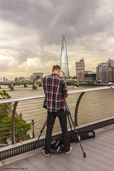 Togged! (Glyn Owen Photography & Image-Art) Tags: uk bridge england london tower thames architecture buildings river photographer south north bank millenium surprise shard ldn togged