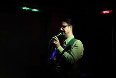 Mr B at Aether & Echo (0455b) (avalard) Tags: club gig livemusic belfast northernireland countyantrim 2014 banjolele mrb soloartist cathedralquarter belfastcitycentre mrbthegentlemanrhymer chaphop gentlemanrhymer aetherecho