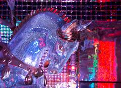 Sparkling horse head, Robot Restaurant, Kabukich, Tokyo (maxunterwegs) Tags: horse japan caballo cheval restaurant tokyo shinjuku restaurante tquio  kabukicho  japo cavalo pferd japon tokio japn tky kabukich robotrestaurant prfekturtokio