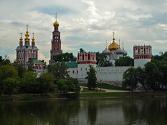 With the World through Moscow, Near the Novodevichy Convent (ABB iphone) Tags: park street city urban architecture outdoors pond none russia outdoor moscow olympus m42 streetphoto reportage observer citywalks russianfederation oldlens mir1v ussrlens russya