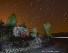 StarTrails_1 copia (PauRoche) Tags: longexposure light sky naturaleza nature night stars landscape lights noche nikon estrellas