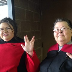 The USS Wind Spirit representing at the #SkySox #StarTrek night. / on Instagram http://instagram.com/p/q8irhGsmit/