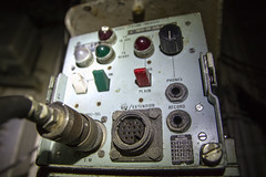 Naval Recording Equipment (tj.blackwell) Tags: sea heritage abandoned liverpool docks war ship unitedkingdom harbour military navy battle security birkenhead urbanexploration conflict british combat frigate naval derelict falklands mersey warship wirral dockyard merseyside urbex royalnavy hmsplymouth rothesayclass