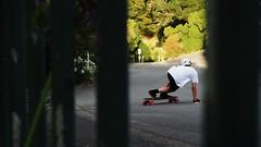 Matt at Major A (alexbladen) Tags: skateboard longboard downhill fast slide adrenaline sparks photography bokeh composure framing artsy contrast olympus omd em10 mzuiko zoom colors colorsinourworld colourful fun
