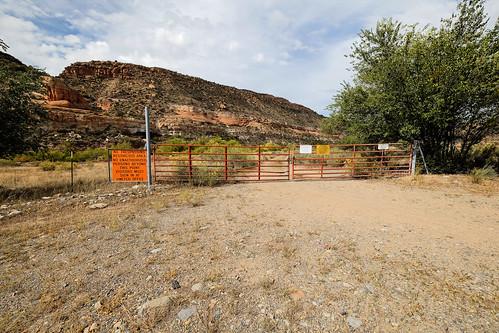 "No Trespassing - Uravan, Colorado • <a style=""font-size:0.8em;"" href=""http://www.flickr.com/photos/148075881@N07/32580743950/"" target=""_blank"">View on Flickr</a>"