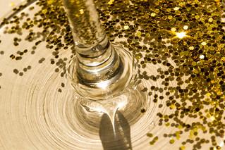 Champagne and Glitter Celebration