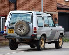 G413 YBH (Nivek.Old.Gold) Tags: 1990 land rover discovery v8 3door 3528cc whitehorsemotors