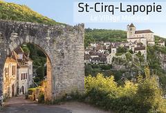 79x54mm // Réf : 15101002 // Saint-Cirq-Lapopie