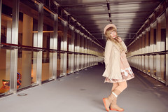 SDF_7796 (SendoFu) Tags: bonnet ボンネット エプロン風スカート blouse bl ブラウス headbow kc カチューシャ bnt 蕾絲 維多利亞 jsk op onepiecedress ワンピース jumperskirt ジャンパースカート nop lolita lolitafashion 蘿莉塔 蘿莉塔時裝 ロリータ・ファッション sweetlolita classicallolita