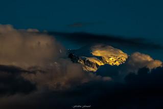 Golden Hour sur le Mont Blanc 1/3