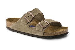 "Birkenstock Arizona Soft Footbed sandal taupe suede • <a style=""font-size:0.8em;"" href=""http://www.flickr.com/photos/65413117@N03/32805843315/"" target=""_blank"">View on Flickr</a>"