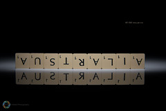 85/365 Australia ([inFocus]) Tags: canon 5d 5dmkiv 2470mmf28lii 2470mm scrabble scrabblesunday words letters boardgames reflection strobist studio creative imagination 365 3652017 project365