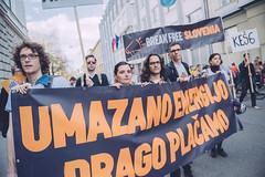 Break Free Podnebni shod - Budnica vladi, 30. marec 2017 (Greenpeace Slovenija) Tags: greenpeace breakfree podnebnabudnicavladirs ljubljana slovenija