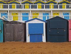 beach huts (maximorgana) Tags: broadstairs beach sand hut vikingbay