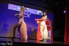 Comicdom Con Athens 2017: On stage: group cosplays (SpirosK photography) Tags: comicdomcon comicdomcon2017 comicdomconathens2017 athens greece convention spiroskphotography cosplay costumeplay onstage stage performance ahri lol leagueoflegends game videogamecharacter videogame