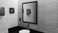 Mirror (TheKinkyKid) Tags: indoor mirror bathroom bath blackeysxf jacklondon hipstamatic iphoneography monochrome blancoynegro bnw white blackandwhite black