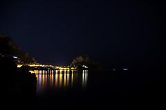 DSC_1776 (Giovanni Valentino) Tags: sicilia sicily santa flavia santelia capo zafferano mare sea notte night riflessi stelle stars