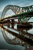 Runcorn Bridge reflections (3 of 5) (andyyoung37) Tags: reflections runcorn runcornbridge uk waterreflections widnes cheshire rivermersey england unitedkingdom gb