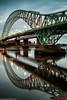 Runcorn Bridge reflections (3 of 5) (andyyoung37) Tags: reflections runcorn runcornbridge uk waterreflections widnes cheshire rivermersey england unitedkingdom gb