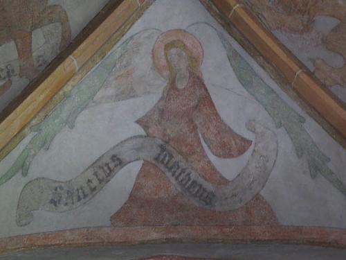 Ange symbolisant Saint-Mathieu
