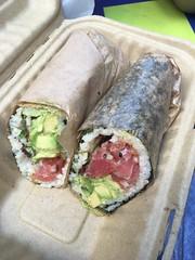 Pokeworks NYC Poke burrito (Like_the_Grand_Canyon) Tags: hawaiian food poke works sushi fish essen fisch trend new usa us america united states amerika spring 2017 vacation traveling