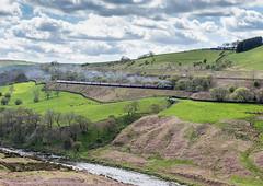 The Cumbrian Mountain Express 22-4-2017 (KS Railway Gallery) Tags: railway cumbrian mountain express uk steam lowgill lune gorge