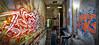 2016 Vs. 2012 (blairniemichelle) Tags: art aerosol ambiance atg abandonee abandone abstrait entrepot explore explorer entrée entrance edge 3d entremêlé rouille reflet red rouge tag tags terrain tracedirect yellow urbex underground mur lumière idf industrial paint panoramique paris decay detail degrade dégradé feu ferree graff graffiti light chrome jaune metal moisissure weis wall warehouse exterior canz blue bleu orange