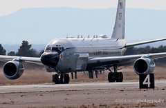 Boeing RC-135W Rivet Joint (JetImagesOnline) Tags: red flag 171 nellis afb air force base exercise military jet aricraft boeing rc135w rivet joint