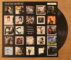 David Bowie - Albums - Royal Mail Fan Sheet (Darren...) Tags:
