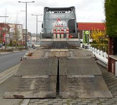 "DAF XF Euro6 460 Semi-Remorque Porte-engin KAISER ""NORD MATERIEL"" (F-62) - vue arrière (xavnco2) Tags: camion truck trucks lorry autocarro lkw semiremorque semitrailer porteengin kaiser daf xf euro6 460"