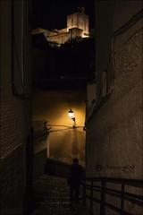 Las noches en el Albaicín (Art.Mary) Tags: alhambra granada andalucía espagne spain nocturna noche night nuit canon albaicín urbana urban contraluz rétroéclairage backlighting