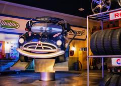 Doc Hudson (Matt Valeriote) Tags: disneyland disney californiaadventure carsland radiatorsprings pixar dochudson animatronic darkride