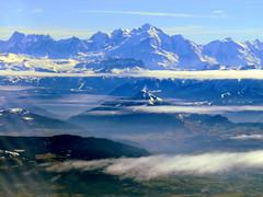 Mont Blanc (oobwoodman) Tags: aerial aerien luftaufnahme luftphoto luftbild alps alpen alpes mountains montagnes berge mucgva montblanc france frankreich