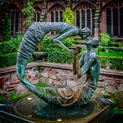 Photo of The Water of Life by Stephen Broadbent, Chester Cathedral