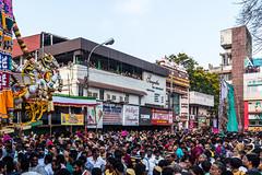 Mayilai Ther Thiruvizha or Chariot Festival (Velachery Balu) Tags: chariot chennai kabaleeswarar karpagambal mylapore pangunifestival ther bhakti devotees devotion kabali mayilai