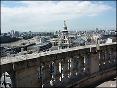 London (United Kingdom) (sky_hlv) Tags: goldengallery saintpaulcathedral catedral catedraldesanpablo panorámica panoramicview panoramic skyline skyscraper skyscrapers londonskyline london londres unitedkingdom reinounido granbretaña greatbritain inglaterra england europa europe