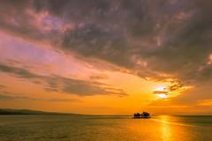 sunset 9324 (junjiaoyama) Tags: japan sunset sky light sun sunshine cloud weather landscape orange contrast colour bright lake island water nature spring