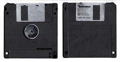 Viking Office Products 2HD High Density IBM Formatted (Dan Keck) Tags: storage computer removable black 1990s writable readwrite unitedstatesofamerica slider 3½‑inch 3½ 35 inch 90mm mb megabytes vikingdirect vop officedepot saveicon plastic microfloppy microdiskette highdensity 144 144mb floppydisk floppy disk 35inch magnetic diskette file software media pc front back spinning save