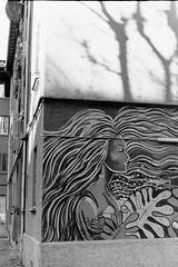 Bon vent (laetitia.delbreil) Tags: moncochrome monocromo blackandwhite blancoynegro biancoenero film pellicule pellicola película filmphotography bw bn nb pentacon prakticab200 prakticar50mm118 35mm slr singlelensreflex bologna italia italy murales muro pared wall mur streetart filmisback filmisnotdead filmisawesome westillcare ishootfilm ifeelfilm jesuisargentique analogsoul analogue argentique analogico análogo wind vento viento vent easter pasqua pâques ilford hp5 iso400