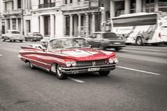 Havana, Cuba - Old Car @Malecón (GlobeTrotter 2000) Tags: cuba malecon visit travel tourism promenade vedado avenida de maceo car old chevrolet vacation habana havana buick