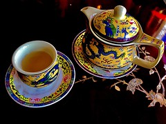 There is something in the Nature of Tea that leads us into a World of quite Contemplation (RenateEurope) Tags: greentea chinese