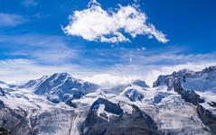 Entre nubes disfrutaba (Jesus_l) Tags: europa suiza gornergrat alpes nieve jesúsl