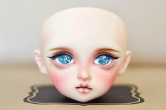 Volks F-01 Megu Face-up (T e s l a) Tags: volks sd superdollfie sd10 megu f01 foursisters four sisters faceup makeup bjd balljointeddoll ball jointed doll